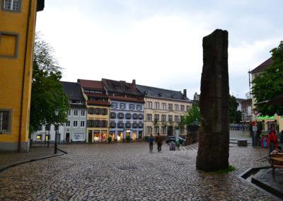 Augustinerplatz, Friburgo in Brisgovia -Diario di viaggio in Alsazia