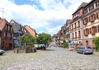 Place du Marchè, Bergheim - Diario di viaggio in Alsazia