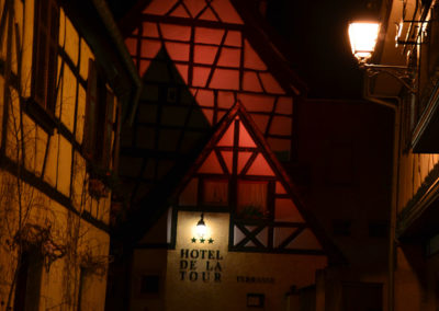 Hotel de la Tour notte, Ribeauvillè - Diario di viaggio in Alsazia