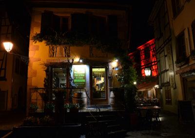 Angolo di notte a Ribeauvillè -Diario di viaggio in Alsazia