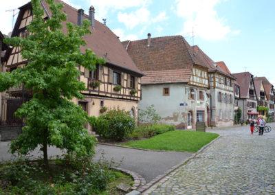 Rue du Vieil Hopital, Bergheim - Diario di viaggio in Alsazia