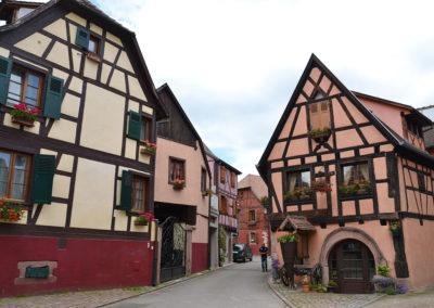 Case a graticcio, Bergheim - Diario di viaggio in Alsazia