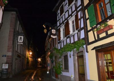 Grand Rue, Ribeauvillè -Diario di viaggio in Alsazia