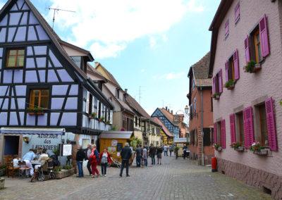 Grand Rue, Bergheim - Diario di viaggio in Alsazia