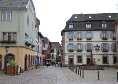 Grand Rue, Ribeauvillè - Diario di viaggio in Alsazia