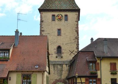 Porte Haute, Bergheim - Diario di viaggio in Alsazia