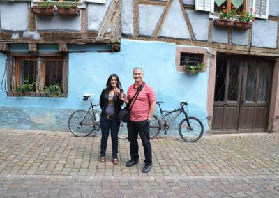 Bergheim - Diario di viaggio in Alsazia