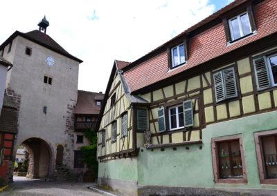 Porte de Munster(Obertor), Turckheim - Diario di viaggio in Alsazia