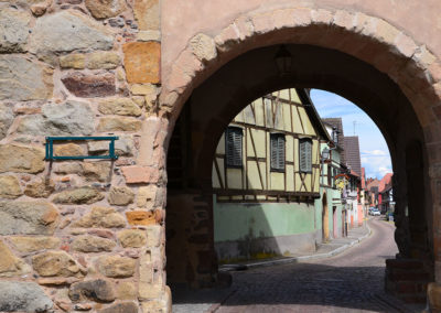 Porte de Munster(Obertor), Turckh