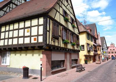 Grand Rue, Turckheim - Diario di viaggio in Alsazia