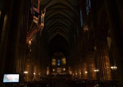 nterno Cattedrale di Strasburgo -Diario di viaggio in Alsazia
