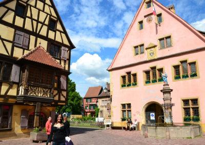 Place Turenne,Turckheim - Diario di viaggio in Alsazia
