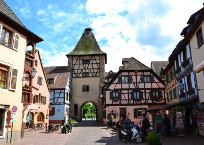 Porte de France, Turckheim - Diario di viaggio in Alsazia