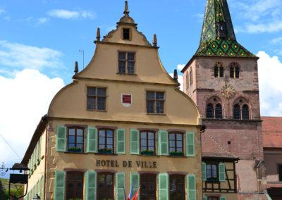 Hotel de Ville-(Municipio),Place Turenne, Turckheim - Diario di viaggio in Alsazia