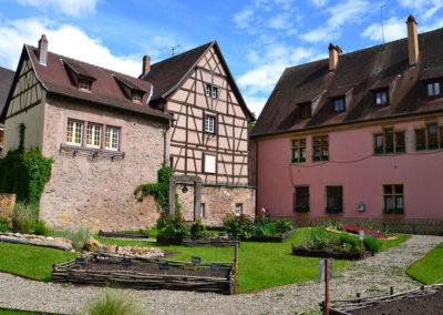 Jardin de la Ville, Turckheim - Diario di viaggio in Alsazia
