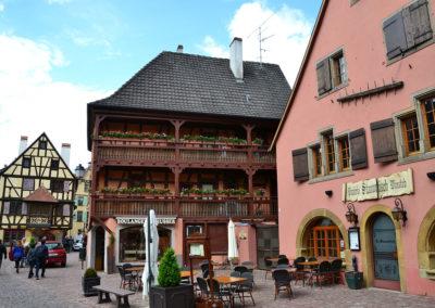 Place Turenne, Turckheim - Diario di viaggio in Alsazia