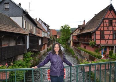 Rue du College sul fiume Weiss, Kaysersberg - Diario di viaggio in Alsazia