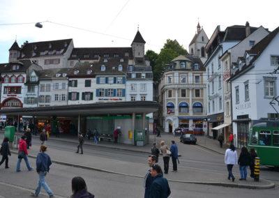 Barfusserplatz, Basilea - Diario di vaiggio in Alsazia