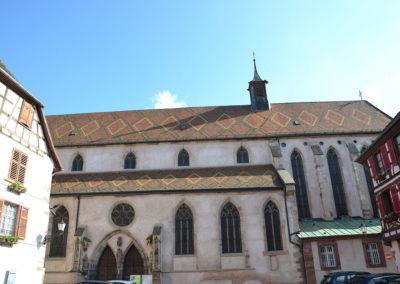 Eglise Du Convent, Place de la Ville, Ribeauvillè - Diario di viaggio in Alsazia