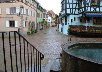 -Rue du General de Gaulle, Riquewirh - Diario di viaggio in Alsazia