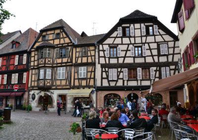 Rue du College, Kaysersberg - Diario di viaggio in Alsazia