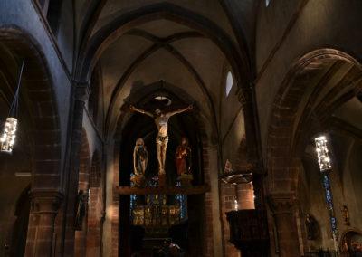 Interno Eglise de l'Invention de-la Sainte Croix - Diario di viaggio in Alsazia
