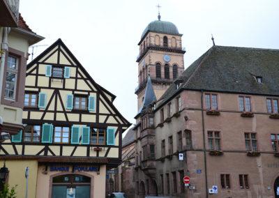 Hotel de Ville, Kaysersberg - Diario di viaggio in Alsazia