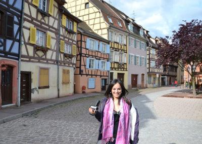 Rue de la Poissonnerie, Colmar - Diario di viaggio in Alsazia