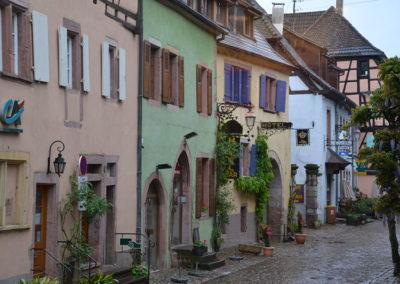Rue du General de Gaulle, Riquewirh - Diario di viaggio in Alsazia