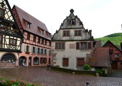 Rue du General de Gaulle, Kaysersberg - Diario di viaggio in Alsazia