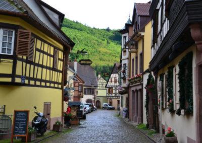 Rue des Potiers, Kaysersberg - Diario di viaggio in Alsazia