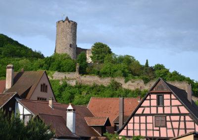 Castello di Kaysersberg - Diario di viaggio in Alsazia