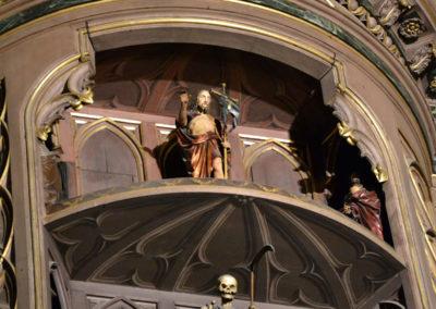 Dettaglio Orologio astromico, Cattedrale di Strasburgo -Diario di viaggio in Alsazia