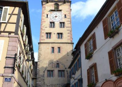 Torre dei Macellai- Tour des Bouchers, Ribeauville - Diario di viaggio in Alsazia
