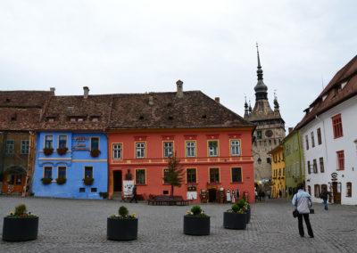 Piata Cetatii, Sighisoara - Diario di viaggio in Transilvania - Romania