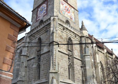 -Biserica Neagra o Chiesa Nera, Brasov - Diario di viaggio in Transilvania - Romania