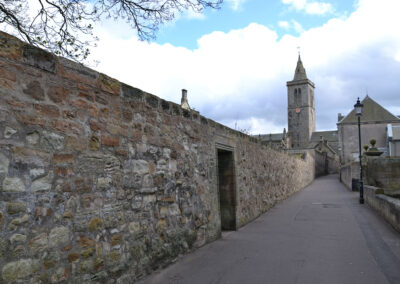 Street the Scores, St Andrews - Diario di viaggio in Scozia