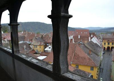 panorama-Sighisoara-dalla-Torre-dell'Orologio