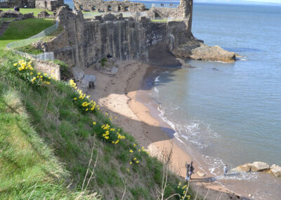 Castle Sands, St-Andrews - Diario di viaggio in Scozia