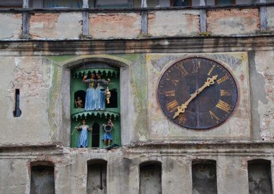 Orologio Torre dell'Orologio-Turnul cu Ceas - Diario di viaggio in Transilvania - Romania