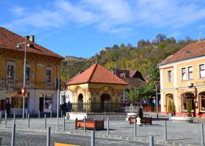 Piata Unirii, Brasov - Diario di viaggio in Transilvania - Romania
