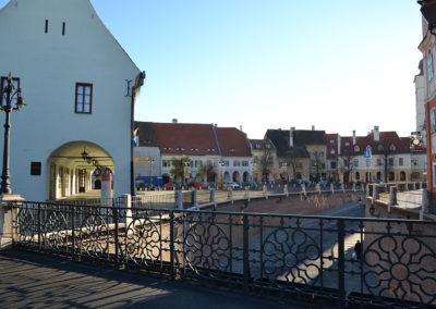 Piata Mica, Sibiu - Diario di viaggio in Transilvania - Romania