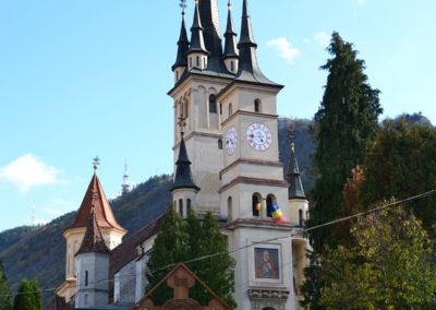 Biserica di S.-Nicolae - Chiesa di San Nicola, Brasov - Diario di viaggio in Transilvania - Romania