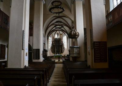 Chiesa del Monastero Dominicano -Biserica Manastirii-, Sighisoara - Diario di viaggio in Transilvania - Romania