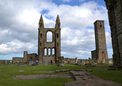 St Andrews Cathedral - Diario di viaggio in Scozia