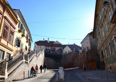 Strada Ocnei, Sibiu - Diario di viaggio in Transilvania - Romania