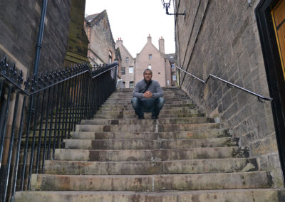 Lady Stair's close, Edimburgo - Diario di viaggio in Scozia