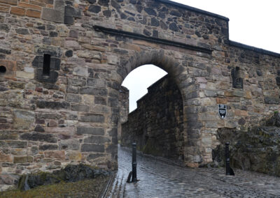 -Edinburgh Castle, Foog's Gate. Diario di viaggio in Scozia