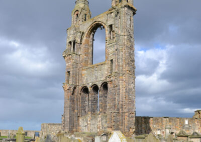 St. Rules, Tower St Andrews - Diario di viaggio in Scozia