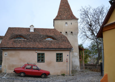 Strada Cojocarilor, Sighisoara - Diario di viaggio in Transilvania - Romania
